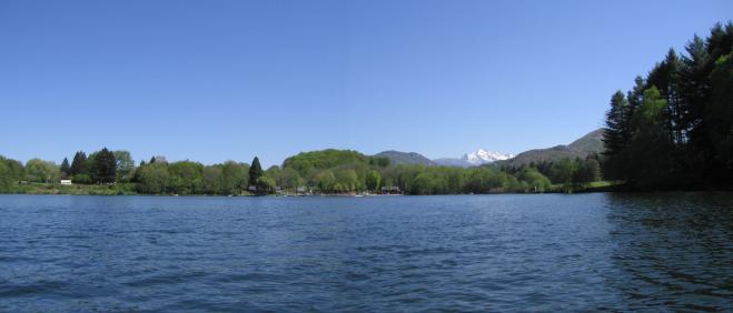 Vue lac pano est